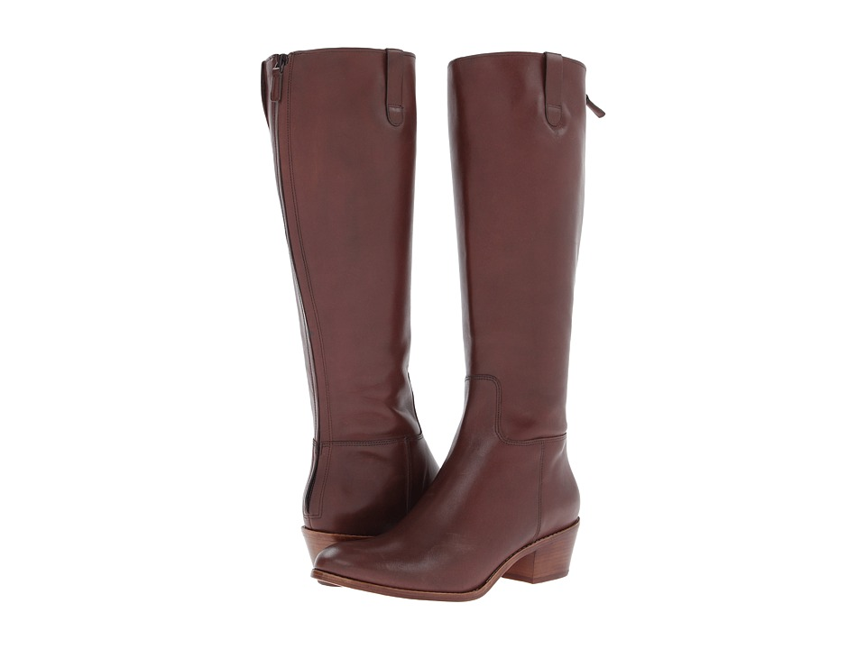 Cole Haan - Wesley Tall Boot (Chestnut) Women