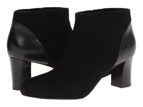 Cole Haan - Miriam Short Boot (Black Suede) Women's Boots