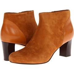 Cole Haan Miriam Short Boot (Camello Suede) Footwear