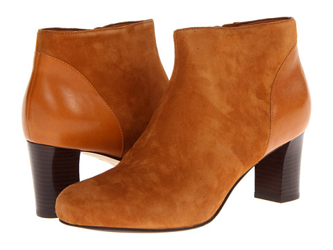 Cole Haan - Miriam Short Boot (Camello Suede) Women's Boots