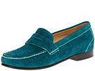 Cole Haan - Monroe Penny (Pendant Teal Suede) - Cole Haan Shoes