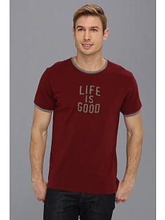 SALE! $14.99 - Save $11 on Life is good Sleep Tee (Antique Red) Apparel - 42.35% OFF $26.00