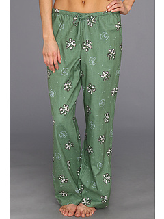 SALE! $15.99 - Save $16 on Life is good Holiday Flannel Sleep Pant (Wreath Green) Apparel - 50.03% OFF $32.00