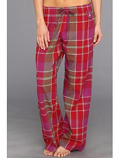 SALE! $17.99 - Save $16 on Life is good Holiday Plaid Flannel Sleep Pant (Holly Red Sugar Plum Plaid) Apparel - 47.09% OFF $34.00