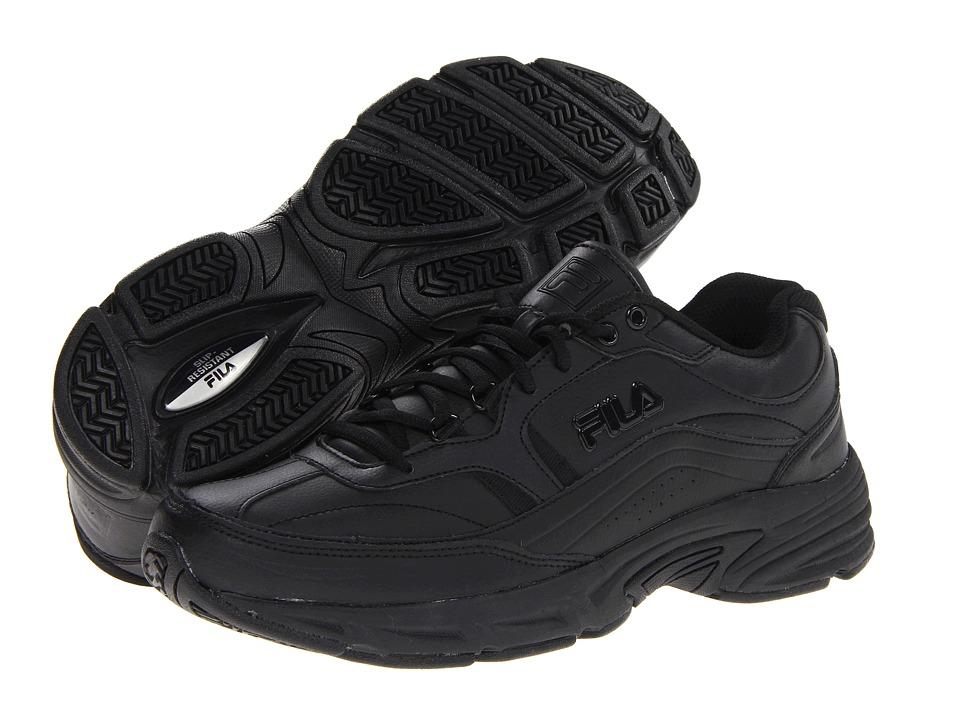 Fila - Memory Workshift (Black/Black/Black) Men's Shoes