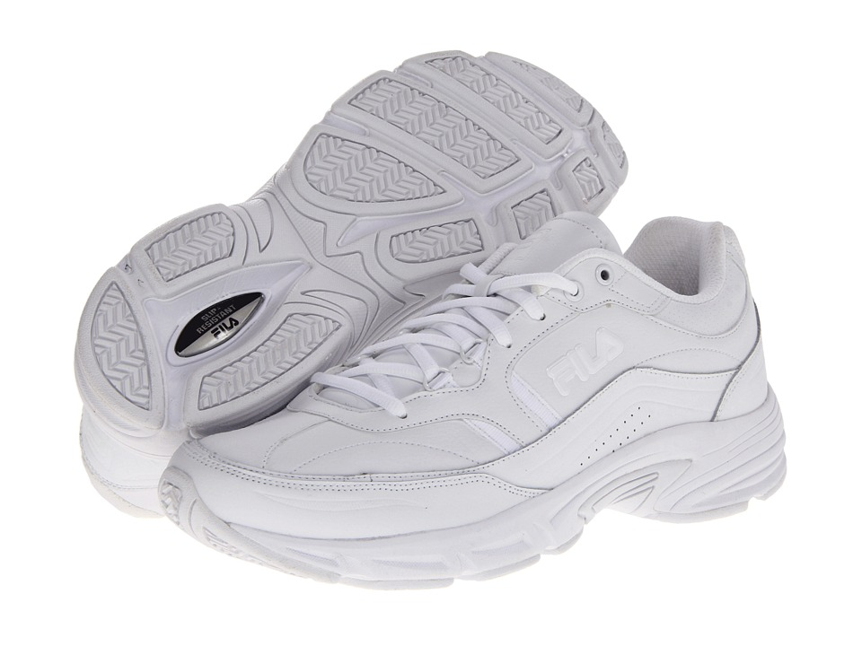 Fila - Memory Workshift (White/White/White) Men's Shoes