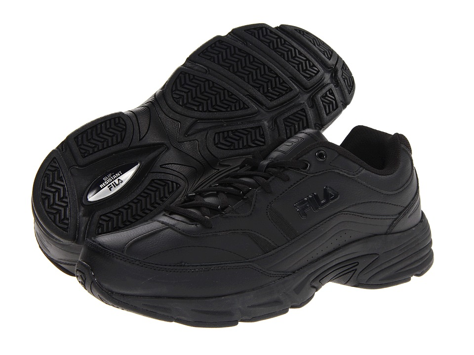 Fila - Memory Workshift (Black/Black/Black 2) Men's Shoes