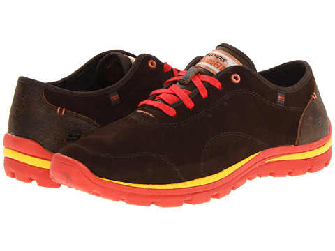 SKECHERS - Relaxed Fit Superior - Celeb (Chocolate) Men