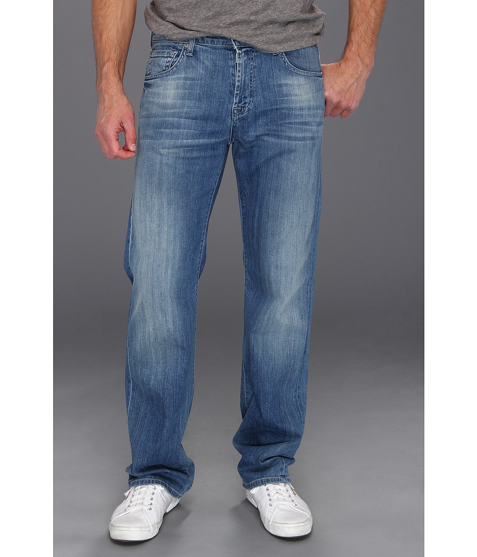 7 For All Mankind - Austyn Relaxed Straight in Washed Out (Washed Out) Men's Jeans