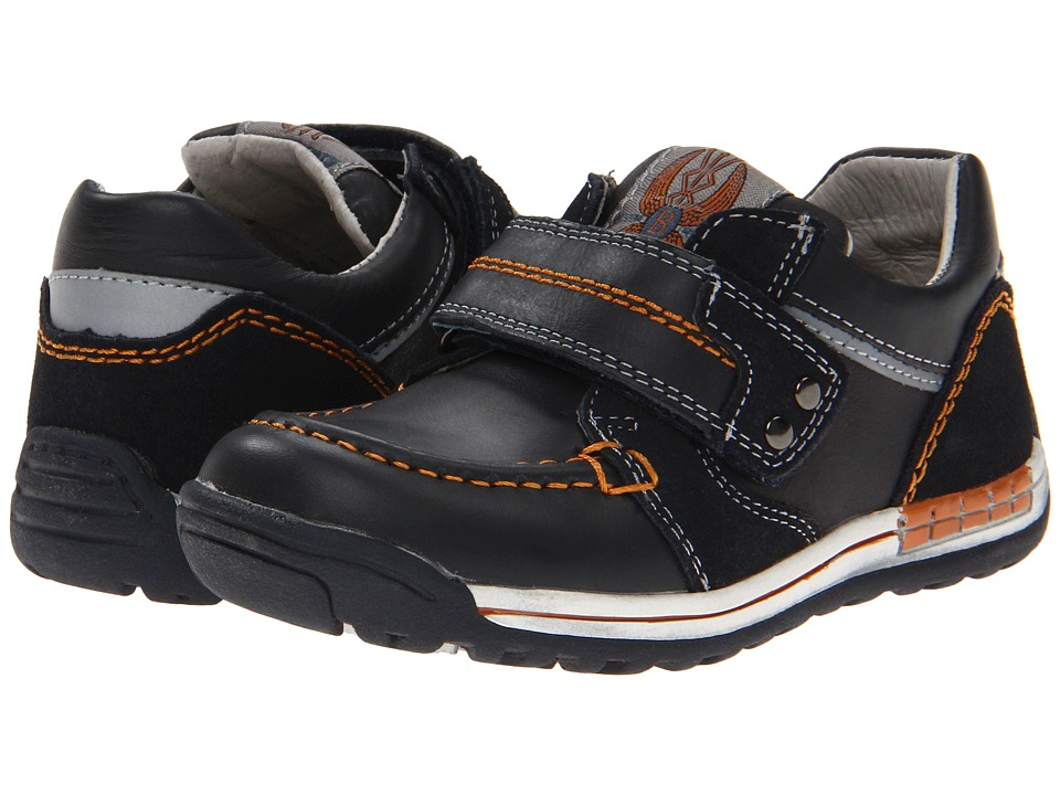 Beeko - Solomon (Toddler/Little Kid) (Black) Boys Shoes