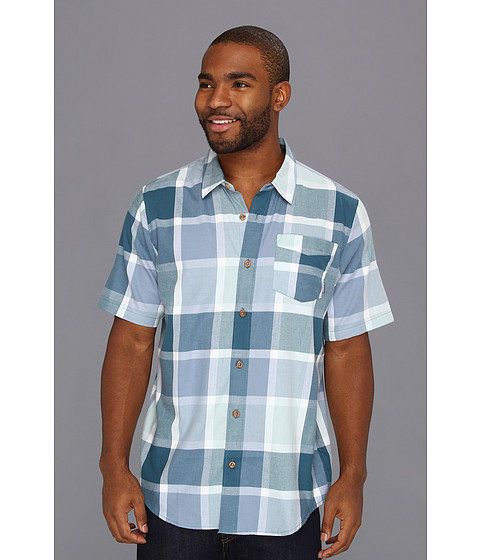O'Neill - Olas S/S Woven (Legion) Men's Short Sleeve Button Up