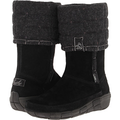 Cushe Quilty Pleasures (Black Suede) Footwear
