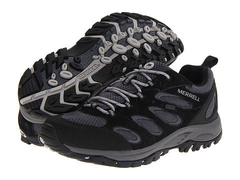 Merrell - Tucson Waterproof (Black) Men's Shoes