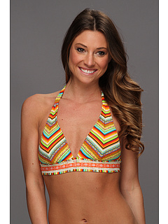 SALE! $36.99 - Save $31 on Lucky Brand Santiago Sunrise Halter Top (Sunrise) Apparel - 45.60% OFF $68.00