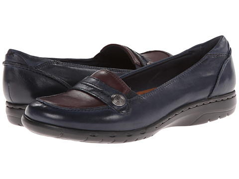 Cobb Hill - Piper (Navy) Women's Shoes