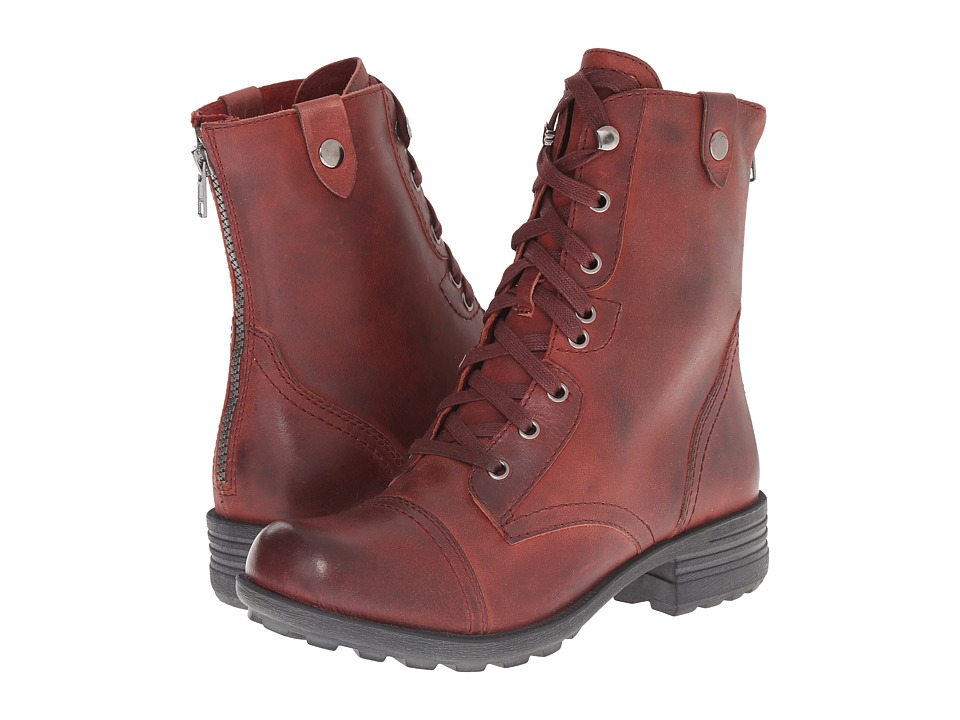 Rockport Cobb Hill Collection - Cobb Hill Bethany (Dark Red) Women's Lace-up Boots