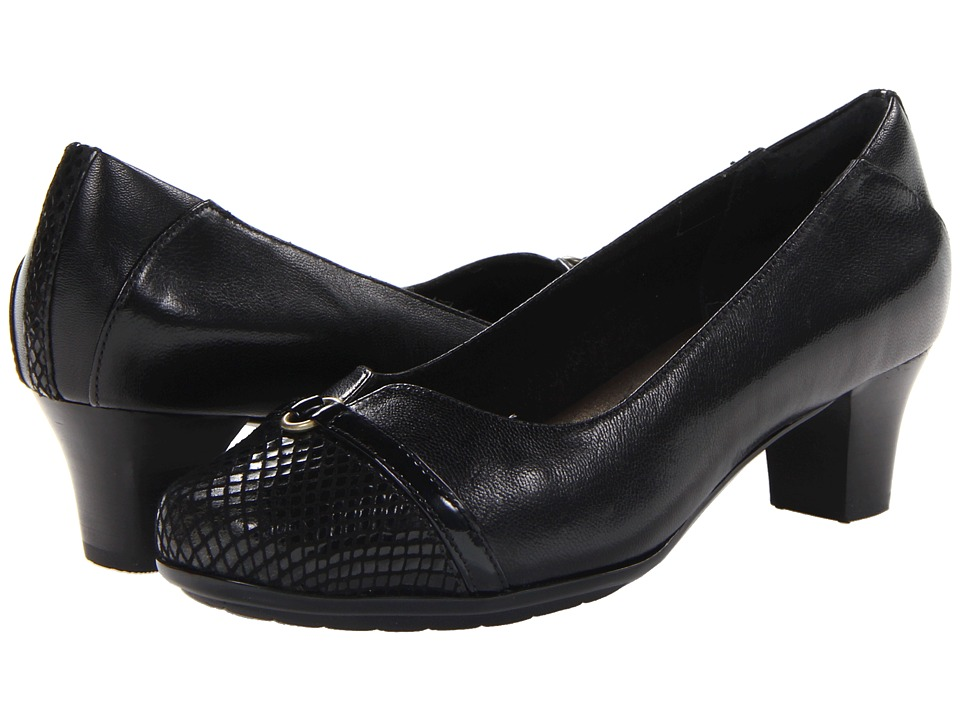 Aravon - Eleanor (Black) High Heels