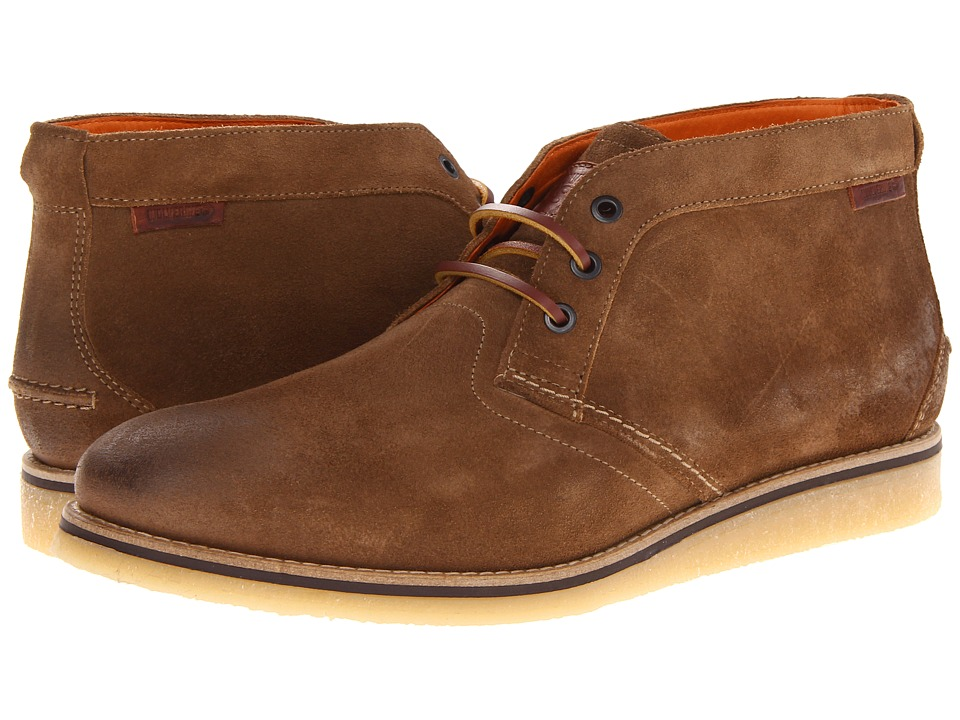 Wolverine Julian Crepe Chukka (Taupe Suede) Men