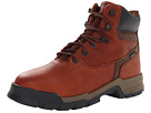 Wolverine Axel ICS Waterproof Insulated 6 Soft Toe (Brown) Men's Work Lace-up Boots
