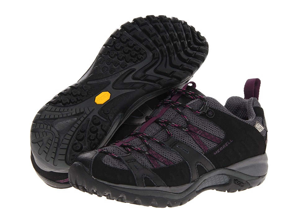 Merrell - Siren 2 Sport WTPF (Black/Damson) Women's Shoes
