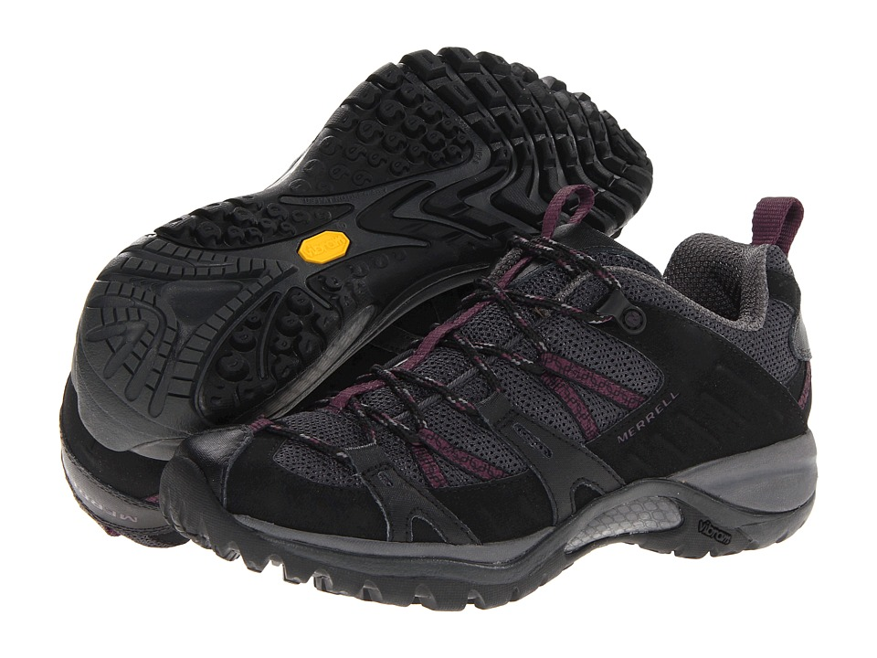 Merrell - Siren Sport 2 (Black/Damson) Women's Shoes