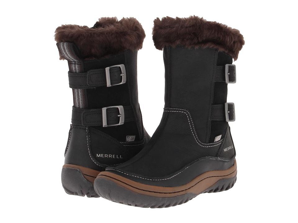 Merrell - Decora Chant Waterproof (Black) Women's Hiking Boots