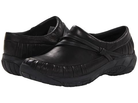 Merrell - Encore Pleat Moc (Black) Women's Shoes