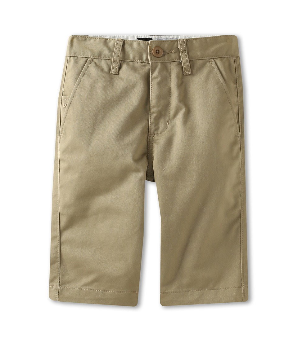 RVCA Kids - Weekday Short II (Big Kids) (Khaki) Boy's Shorts