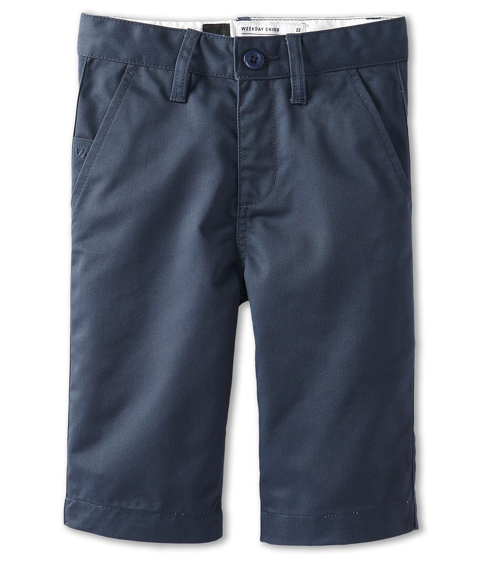 RVCA Kids - Weekday Short II (Big Kids) (Midnight) Boy's Shorts