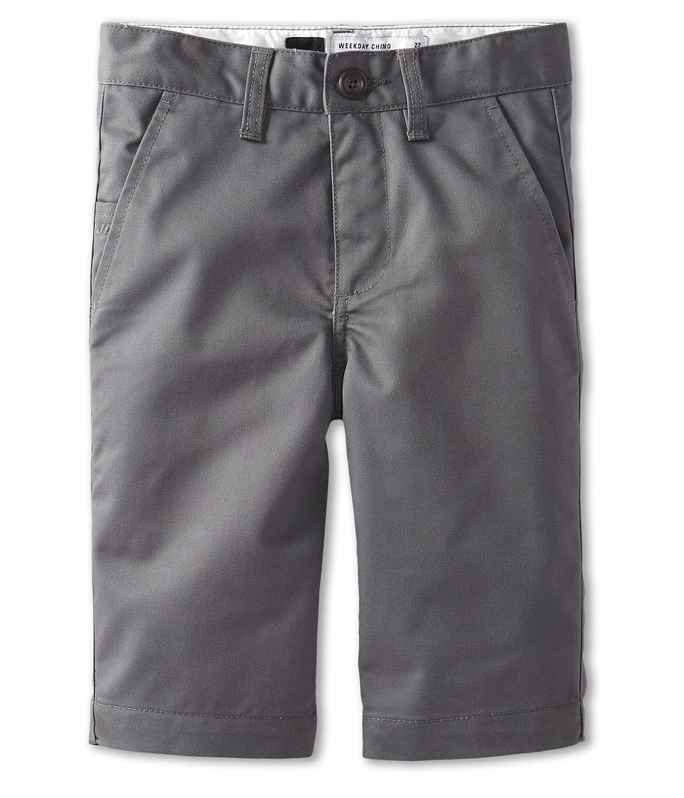 RVCA Kids - Weekday Short II (Big Kids) (Pavement) Boy's Shorts