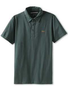 SALE! $11.99 - Save $20 on RVCA Kids Sure Thing S S Polo (Big Kids) (Dark Forest) Apparel - 62.53% OFF $32.00