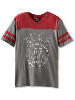 SALE! $9.99 - Save $20 on RVCA Kids Going Long S S Tee (Big Kids) (Gray Noise) Apparel - 66.14% OFF $29.50