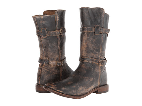 Bed Stu - Turn-L (Black Lux) Women's Boots