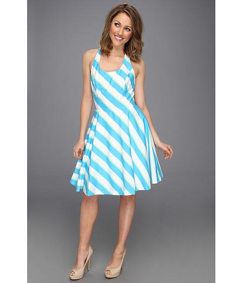 Lilly Pulitzer - Zo Dress (Turquoise Roper Stripe) Women
