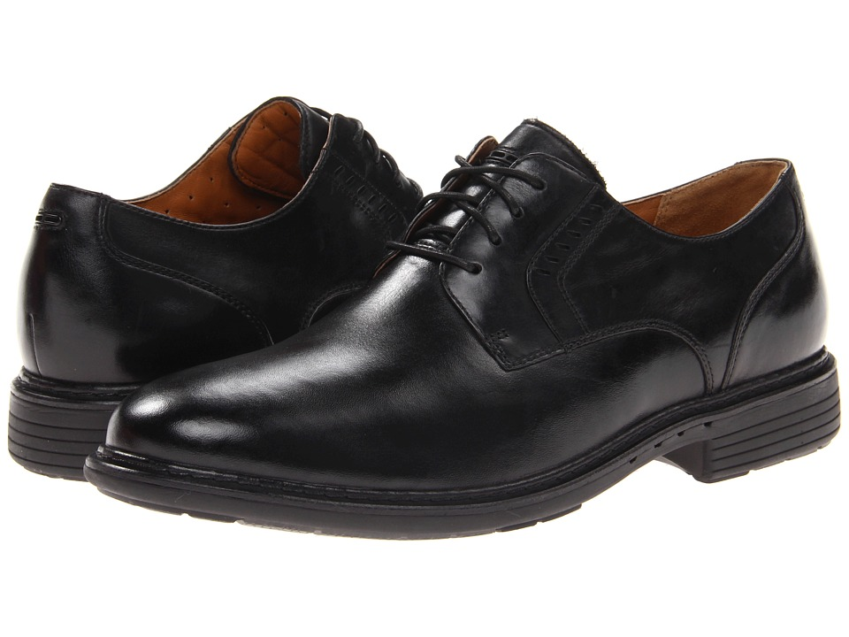 Clarks - Un.Walk (Black Leather) Men