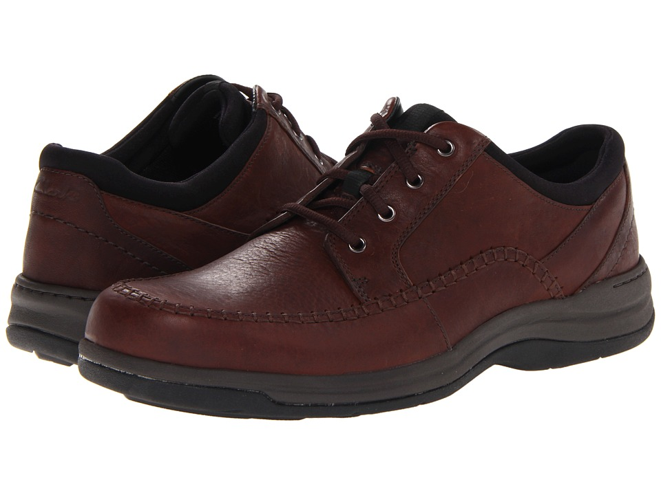 Clarks - Portland2 Tie (Brown Leather) Men