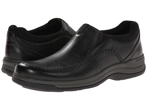 Clarks - Portland 2 Easy (Black Leather) Men