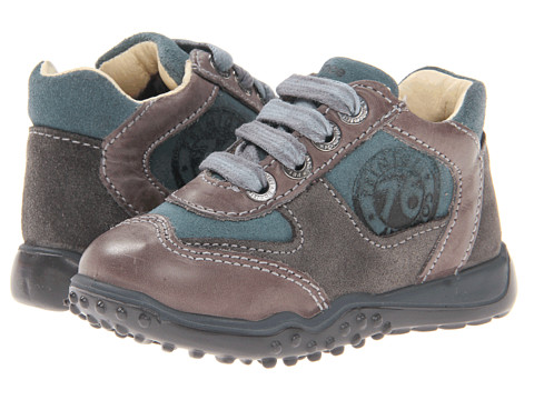 Primigi Kids - Pich-M FA13 (Toddler) (Grey/Aqua) Boys Shoes