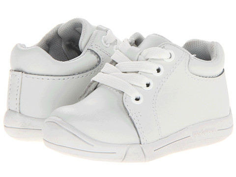 Jumping Jacks Kids - Perfection 2013 (Infant/Toddler) (White Leather) Kids Shoes
