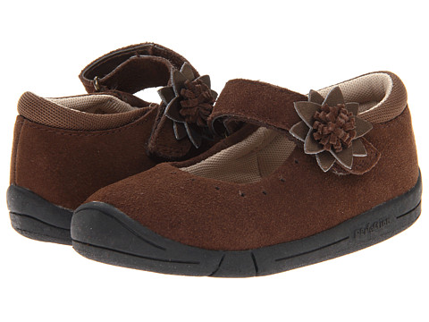 Jumping Jacks Kids - Bella (Toddler) (Chocolate Brown Suede) Girls Shoes