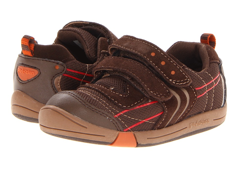 Jumping Jacks Kids - Lazer (Toddler) (Chocolate Brown Suede) Boys Shoes