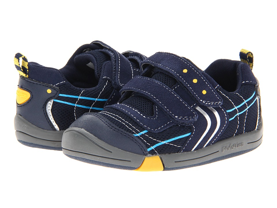 Jumping Jacks Kids - Lazer (Toddler) (Dark Navy Suede) Boys Shoes