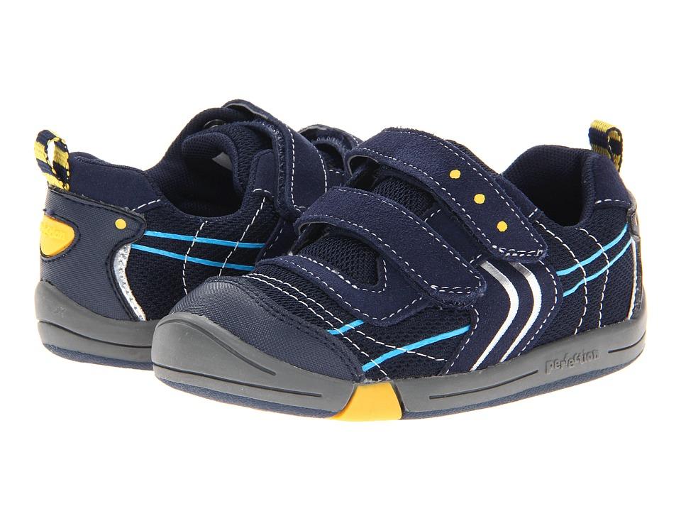 Jumping Jacks Kids - Lazer (Toddler) (Dark Navy Suede) Boys Shoes
