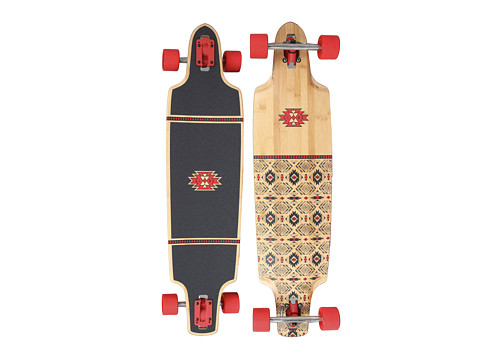 Globe - Spearpoint (Red/Bamboo) Skateboards Sports Equipment