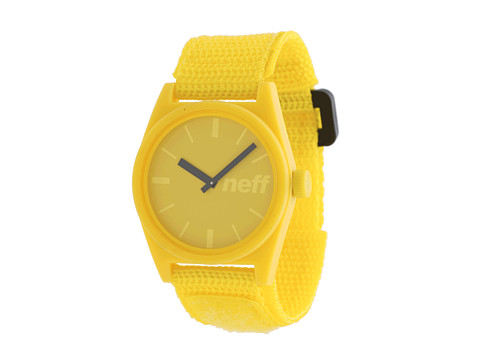 Neff - Daily Velcro Watch (Yellow) Watches
