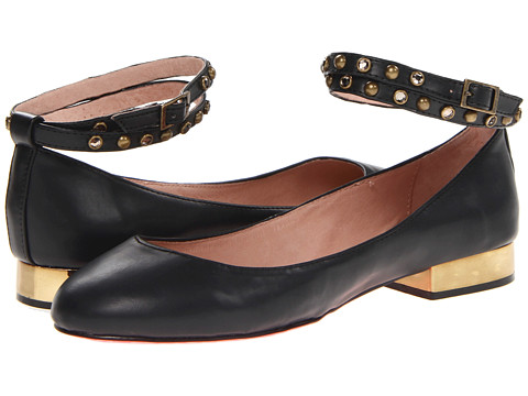 Betsey Johnson - Caddy (Black) Women's Flat Shoes