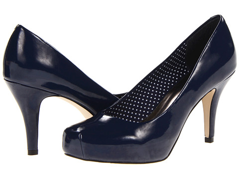 Madden Girl - Getta (Navy Patent) Women