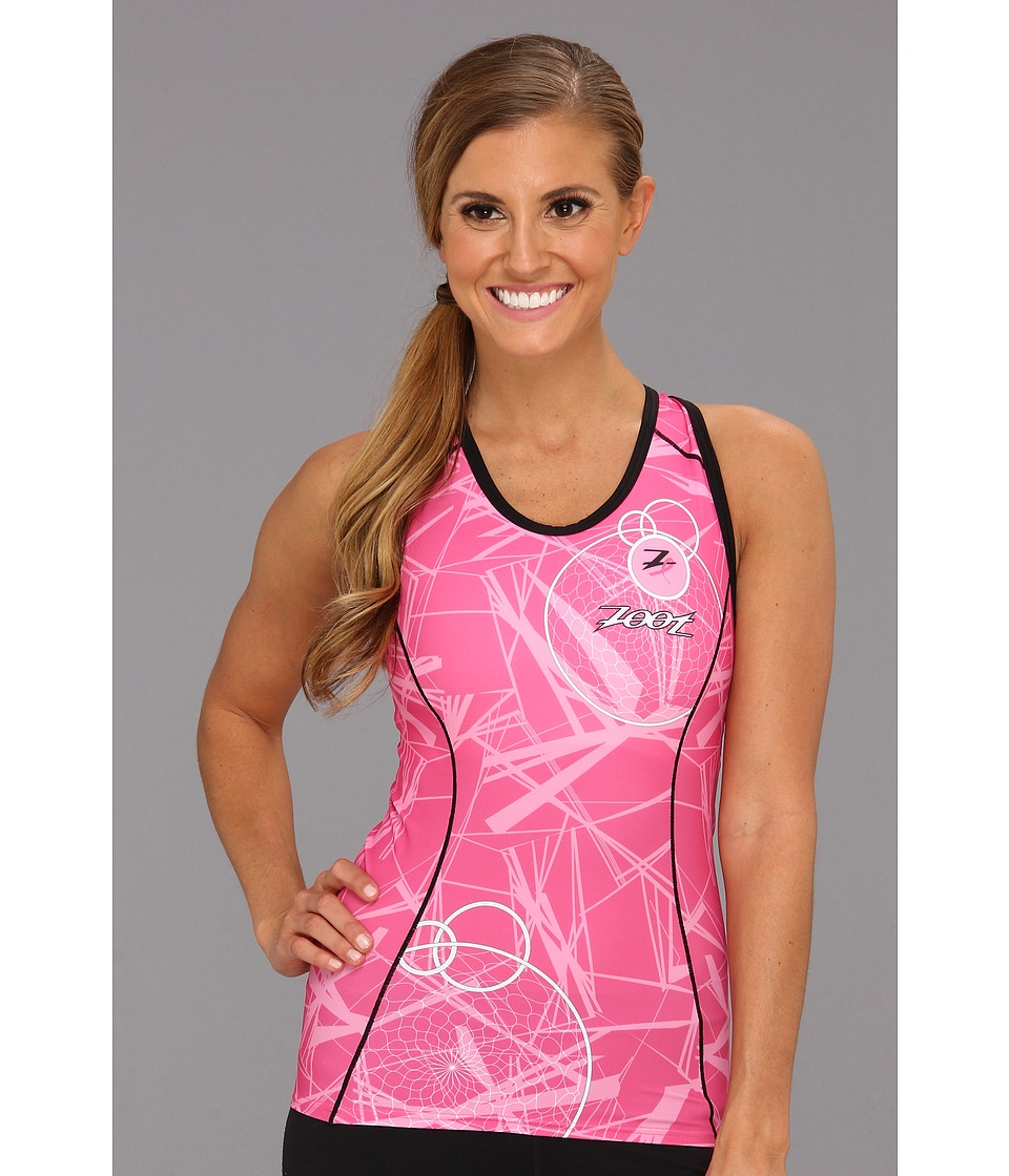 Zoot Sports - W Ultra Tri BCRF Racerback (Pink) Women's Clothing