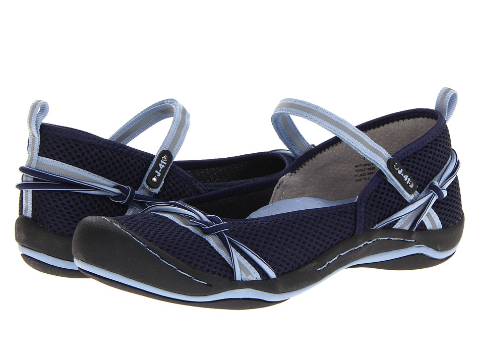 J-41 - Misty Mesh (Navy/Sea Blue) Women's Shoes