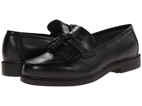 Propet - Dixon (Black) Men's Slip on Shoes